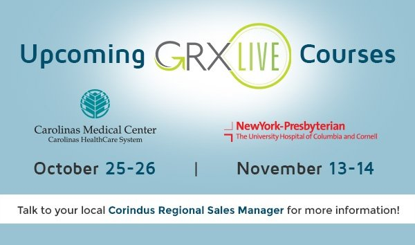 Upcoming GRX Live Courses